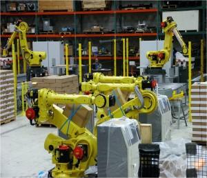 Qcomp Multiple Robots Palletizing Photo